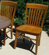 Wood Chairs (5) in Naperville, Illinois