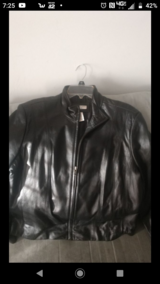 Xl leather jacket in Cherry Point, North Carolina
