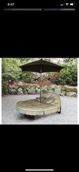 Mainstays Deluxe Orbit Chaise Lounge, Umbrella in Fairfield, California