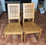 Dinning table with 2 chairs in Okinawa, Japan