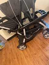 Graco double stroller in Okinawa, Japan