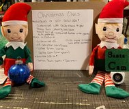 Christmas elves with Santa cams in Fort Hood, Texas