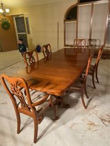 Dining Room Set with Cabinet in Orland Park, Illinois