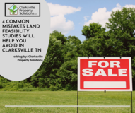 4 Common Mistakes Land Feasibility Studies Will Help You Avoid In Clarksville TN in Fort Campbell, Kentucky