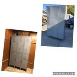 Metal Locker w/6 Compartments in Vacaville, California