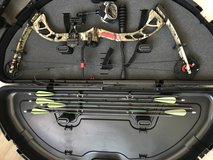 PSE Archery stinger compound bow in Camp Pendleton, California