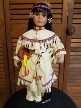 "Limited Edition Heritage House Inc., Native Voices ""Ayita"" Porcelain Native American Doll in Camp Lejeune, North Carolina"