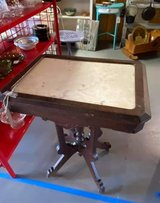 Antique Marble Table-15% OFF 10/17/20 ONLY in Camp Lejeune, North Carolina