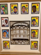 1954 Brooklyn Dodgers Team Set in Hopkinsville, Kentucky