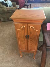 Jewelry cabinet, oak in Plainfield, Illinois
