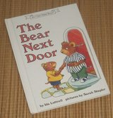Vintage 1991 1st Edition The Bear Next Door An I Can Read Hard Cover Book in Yorkville, Illinois