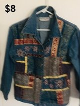 Denim Patchwork Jacket in Yucca Valley, California