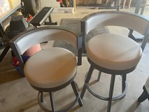 Leather barstool counter and bar height in Travis AFB, California