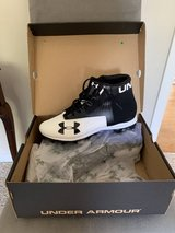 Under Armour mid cleats - size 11 in St. Charles, Illinois