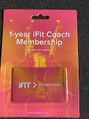 1 year iFit coach membership in Naperville, Illinois