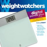 New! Weight Watchers Dig Glass & Stainless Bathroom Scale - 400 Lb Cap in Wheaton, Illinois