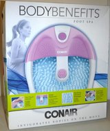 New! Conair Body Benefits Foot Spa ~Mod: FB3 in Orland Park, Illinois