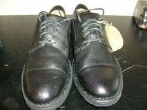 Born Black Leather Cap Toe Oxfords Dress Shoes in Fort Campbell, Kentucky