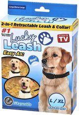 Lucky Leash 2n1 Retractable Leash & Collar- Large/X-Large in Fort Campbell, Kentucky
