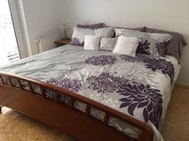 German King Size Bed in Wiesbaden, GE