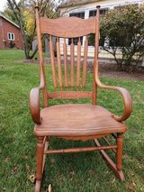 Antique Rocking chair in St. Charles, Illinois