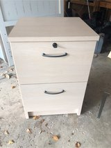 2 drawer filing cabinet w key in Plainfield, Illinois