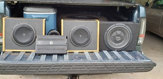 SUBWOOFERS AND AMP in Kingwood, Texas