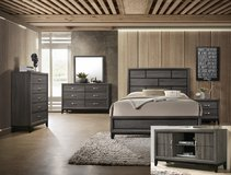 New! Grey bed set in Camp Pendleton, California