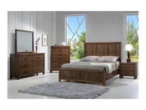 New! Urban espresso KING bed set in Camp Pendleton, California