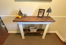 Country / Cottage style foyer table / console table / sofa table / TV stand - $120 or best offer in Moody AFB, Georgia