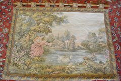 Gobelin Tapestry picture tapestry carpet Wall hanging 135x112cm in Wiesbaden, GE