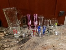 12 Shot Glasses & 1 Mug in Batavia, Illinois