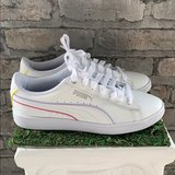 NWT And Box Womens Puma Vikky V2 White Leather Sneaker in Fort Bliss, Texas