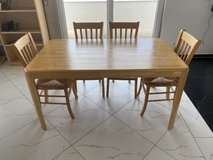 Dining Table and Chairs - FREE in Stuttgart, GE