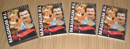 RARE 2005 Magnum PI Complete Second Season DVD 3 Disc Box Set Tom Selleck in Morris, Illinois