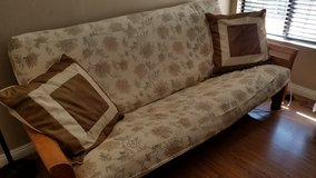 Queen Futon, Solid Wood Frame, $100 obo in Camp Pendleton, California
