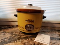 Vintage Rival Crock Pot Slow Cooker Model 3654 5 Quart Removable Crock w/Dome Lid in Batavia, Illinois