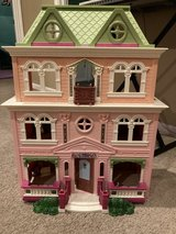 Dollhouse with doll family and tons of furniture in Kingwood, Texas