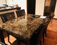 Dining Room Table in Okinawa, Japan