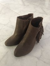 Tan Leather Ankle Booties in Ramstein, Germany