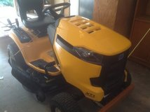 Cub Cadet with mower and snowblade in Aurora, Illinois