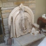 Antique Cast Iron Fireplace Cover in Batavia, Illinois