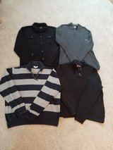 Mens size XL sweater lot all for $10 ... DKNY, Chaps, 23rd in Morris, Illinois
