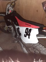 2001 HONDA CR 250 in 29 Palms, California