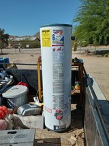 new gas water heater in Yucca Valley, California