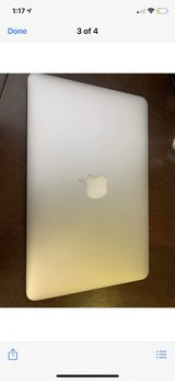 "Apple MacBook Air 11.6"" Laptop with Intel Processor in Fort Leonard Wood, Missouri"