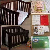 Delta 4 in 1 Crib with extras in Camp Pendleton, California