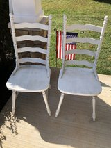 2 wood chairs in Fort Campbell, Kentucky
