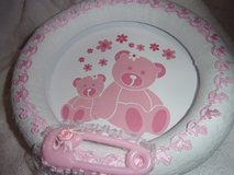 Beautiful Baby Shower decor, Baby room decor with hanger. New. rocking horses teddy bears. in Fort Hood, Texas
