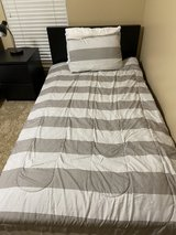 2 black twin IKEA beds in Spring, Texas